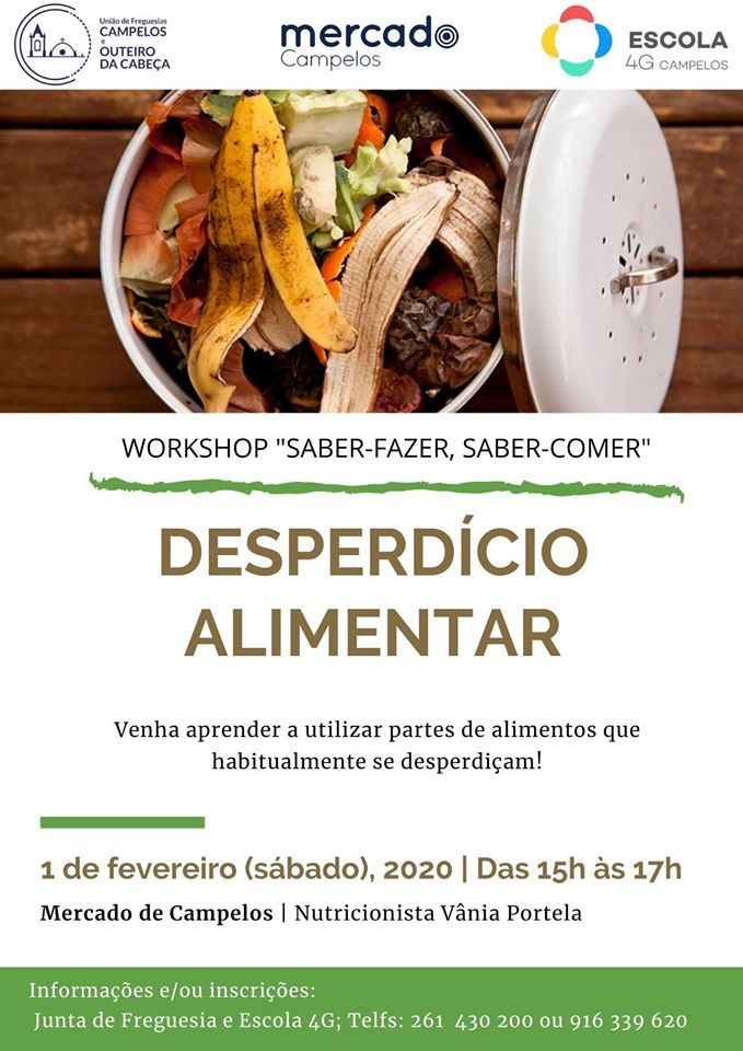 Workshop sobre desperdício alimentar