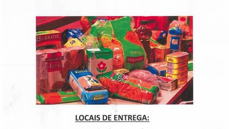 Campanha solidária de recolha de alimentos