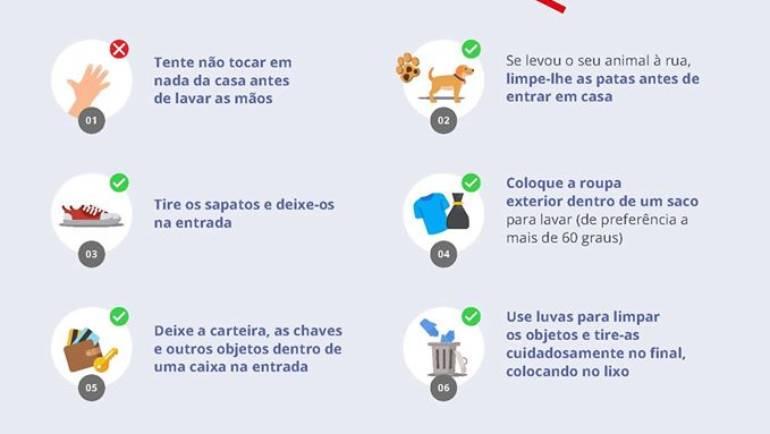 ALERTA COVID 19: CUIDADOS AO ENTRAR EM CASA