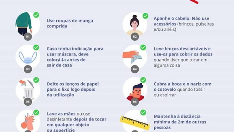 ALERTA COVID 19: CUIDADOS AO SAIR DE CASA