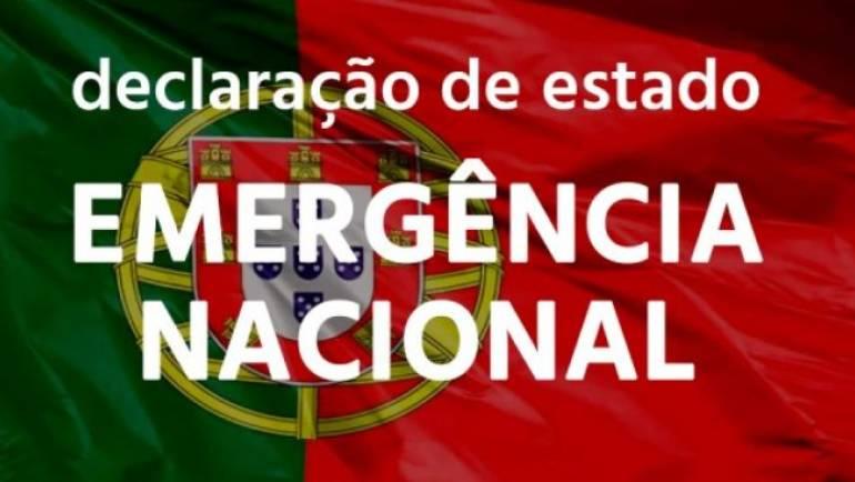 O ESTADO DE EMERGÊNCIAFOI PROMULGADO