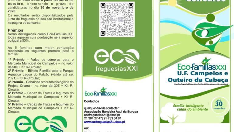 Concurso Eco-Famílias XXI até dia 30 de novembro