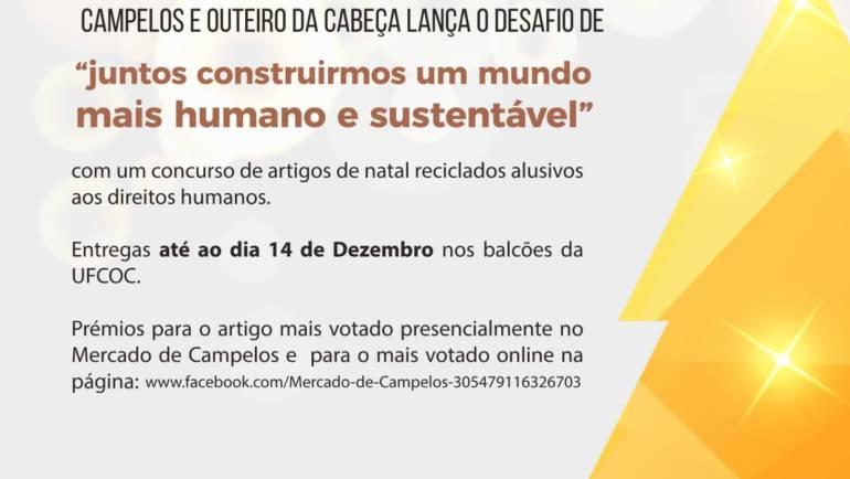 Concurso de Natal do mercado de Campelos 2020