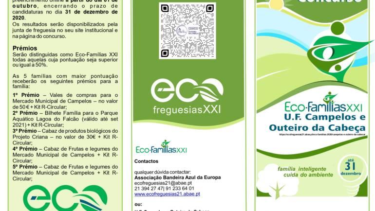 Concurso Eco-Famílias XXI até dia 31 de dezembro