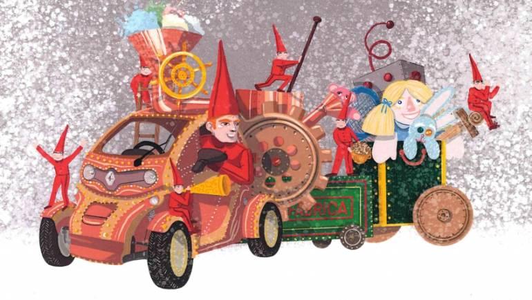 Desfile de Natal na sexta dia 11