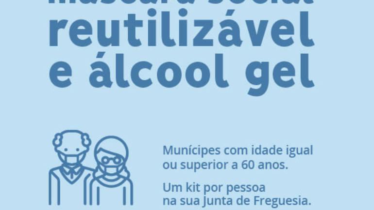 Kit de proteção para Fregueses maiores de 60 anos