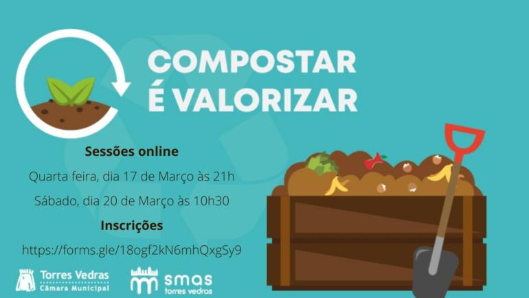 Compostar é valorizar | Sessões sobre compostagem doméstica