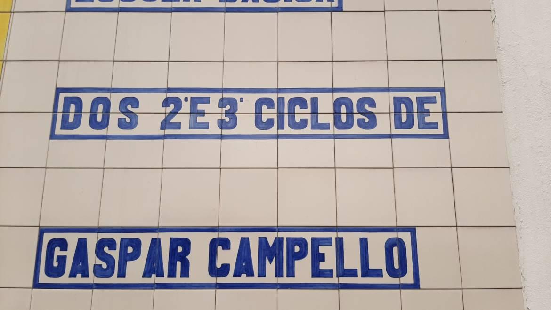 Reposição do Patrono Gaspar Campello para a Escola básica de Campelos
