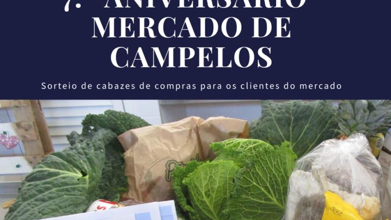 7.º Aniversário do Mercado de Campelos
